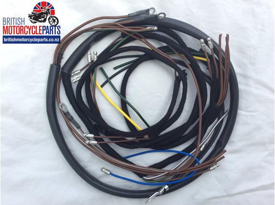 BSA B31 B32 B33 B34 inc. Gold Star Wiring Loom - Cloth Braided - BMP - Auckland