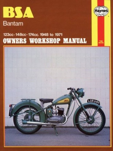 BSA Bantam 1948-71 Workshop Manual