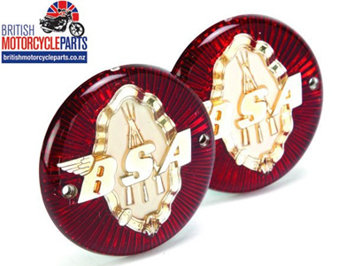 65-8220 Petrol Tank Badges BSA