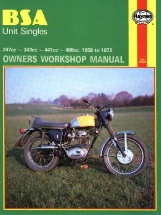 BSA Unit Singles Workshop Manual