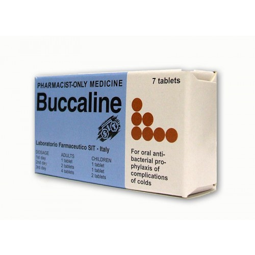 Buccaline Tablets 7