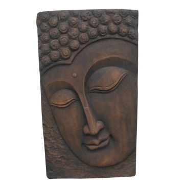 Buddha Outdoor Wall Art 55cmh