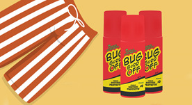 BUG-grrr OFF Natural  Insect Repellent