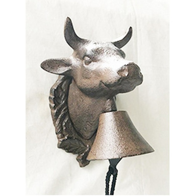 Bull Door Bell - Cast Iron