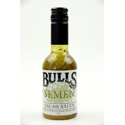 Bulls Semen Salad Sauce