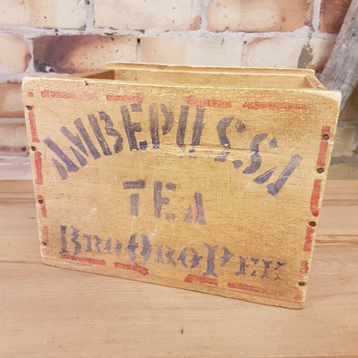 Burgess Frasers Tea Crate