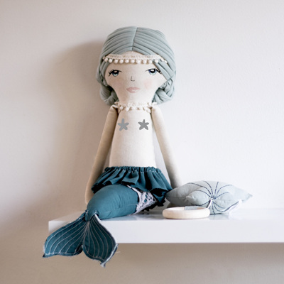 Burrow and Be Ava Mermaid Doll