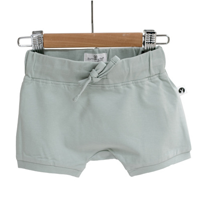 Burrow and Be Essential Baby Shorts - Mist