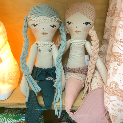 Burrow and Be Evie Mermaid Doll