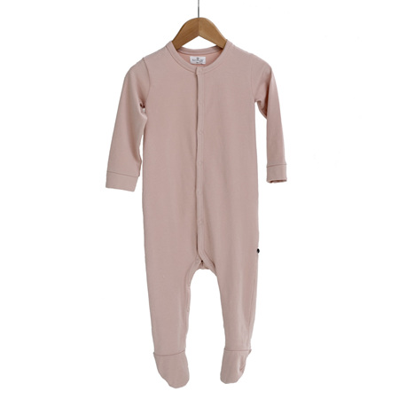 Burrow and Be Sleep Suit - Dusty Rose