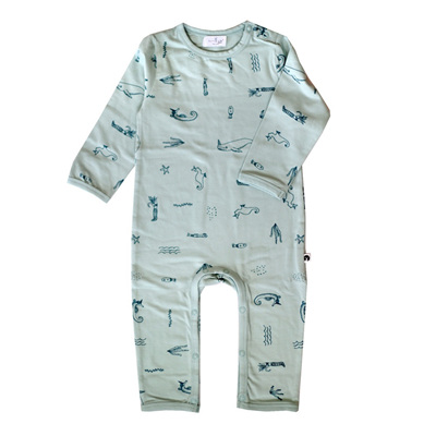 Burrow and Be Under the Sea Long Romper