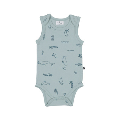 Burrow and Be Under the Sea Singlet Onesie 12-18m