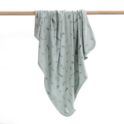 Burrow and Be Under the Sea Stretchy Swaddle