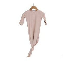 Burrow & Be Baby Sleep Gown Dusty Rose