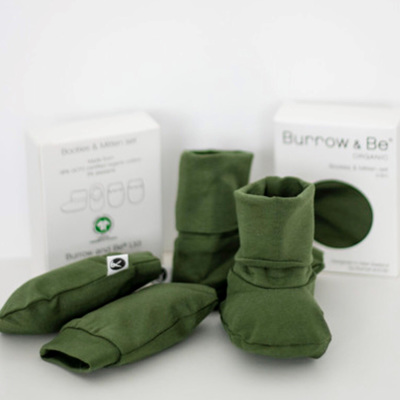 Burrow & Be Booties & Mittens Set