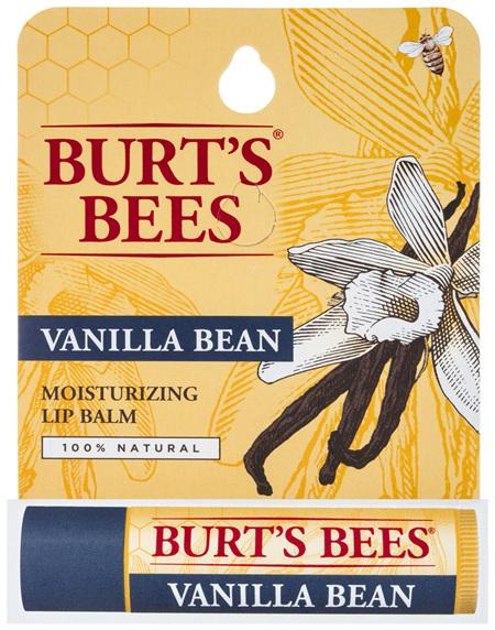 Burts Bees 100% Natural Vanilla Bean Lip Balm 4.25g