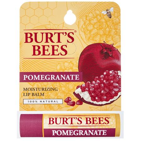 Burt's Bees Moisturising Lip Balm Pomegranate 4.25g