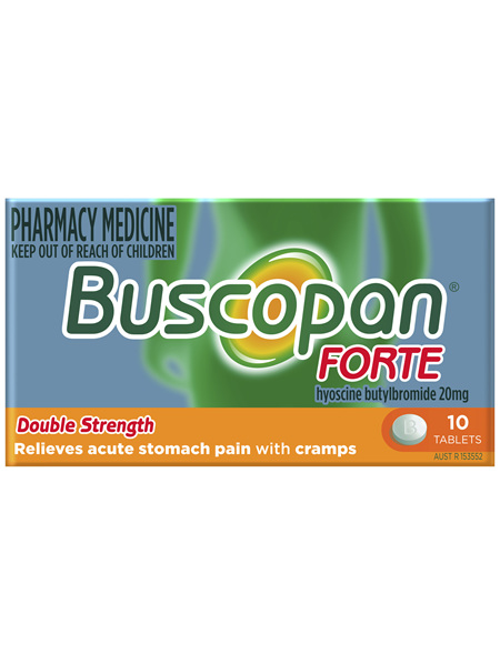 Buscopan Forte Tablets 10 Pack