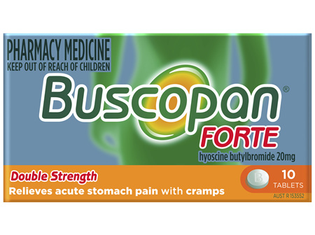 Buscopan Forte Tablets 10 Pack