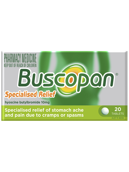 Buscopan Tablets 20 Pack