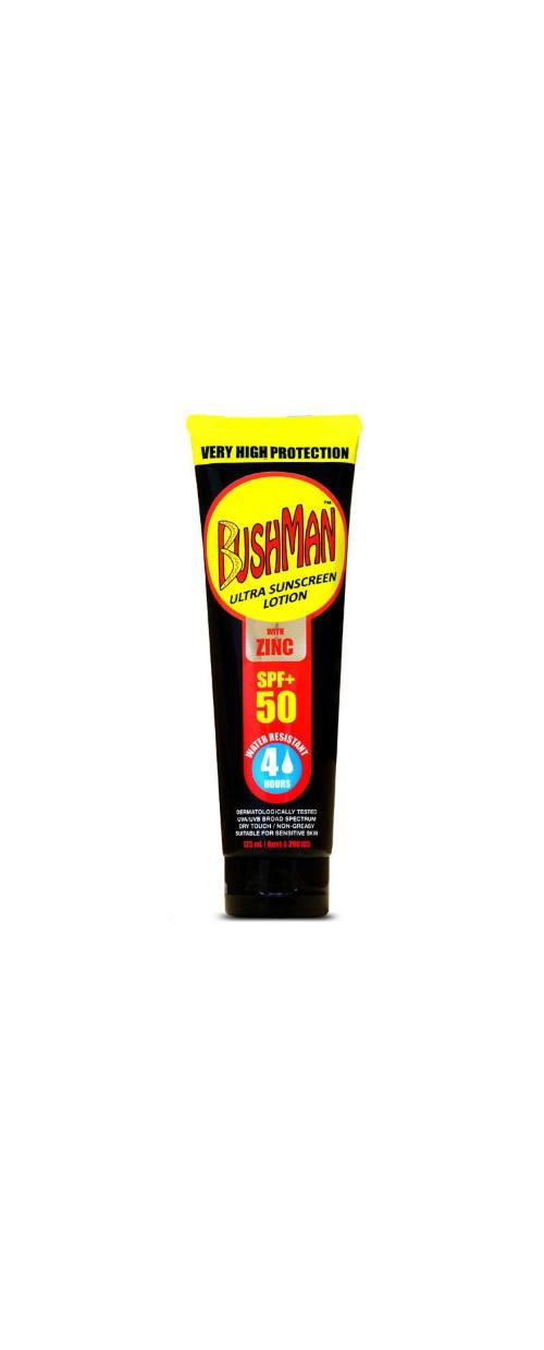 BUSHMAN Sunscreen SPF50+ with Zinc 125g