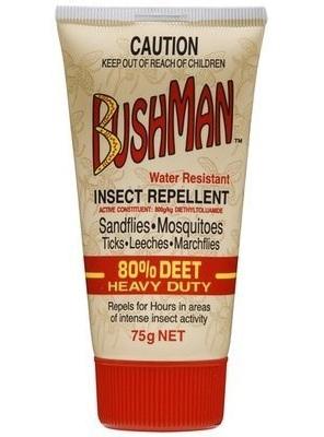 Bushman Ultra 80% Deet DryGel 75g