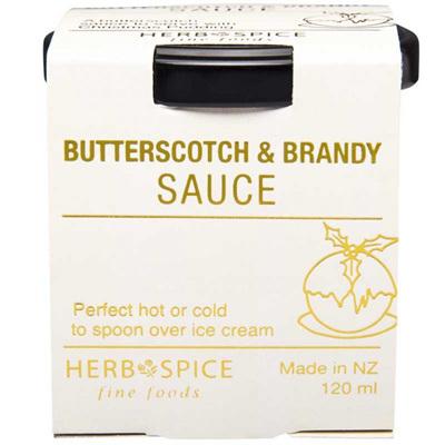 Butterscotch & Brandy Sauce