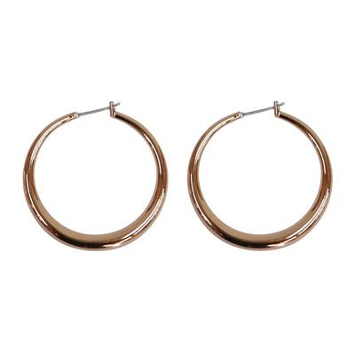 C2 Hoop Earring - Rose Gold