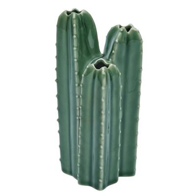 Cactus Vase Triple Stem