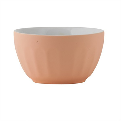 Cafe Bowl - Small Matte Apricot