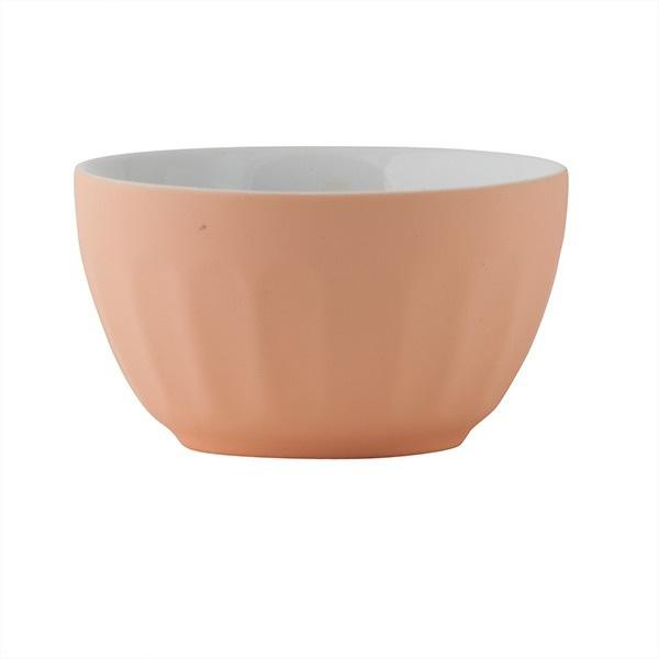 Cafe Bowl - Small Matte Apricot