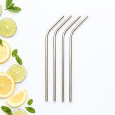 CaliWoods Stainless Steel Drinking Straws