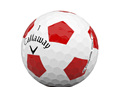 Callaway 2020 Chrome Soft Truvis Dozen Golf Balls - White/Red