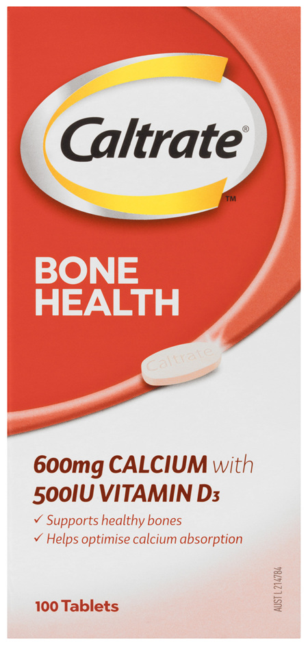Caltrate Bone Health 100's