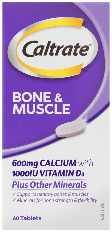 Caltrate Bone & Muscle 60's