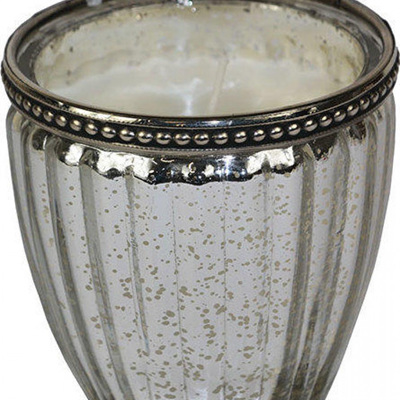 Candle - Rib Cup Silver