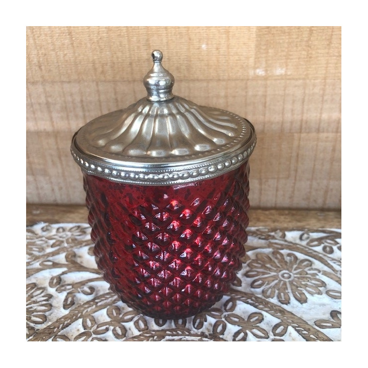 Candle Ruby Red