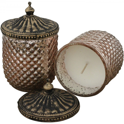 Candle with Lid - Punch