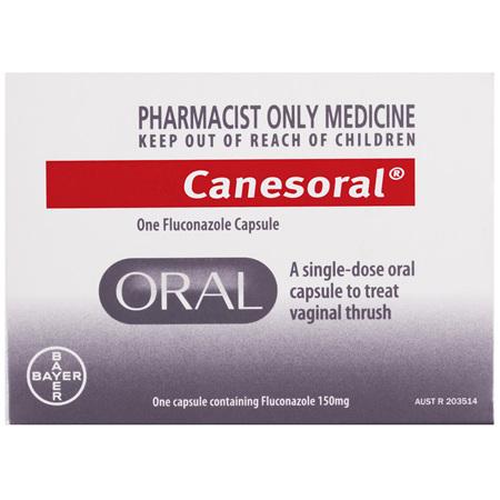 Canesoral One Fluconazole Capsule 1 Pack