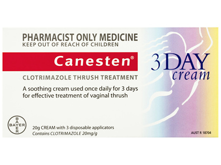 Canesten 3 Day Thrush Treatment Internal Soothing Cream 20g