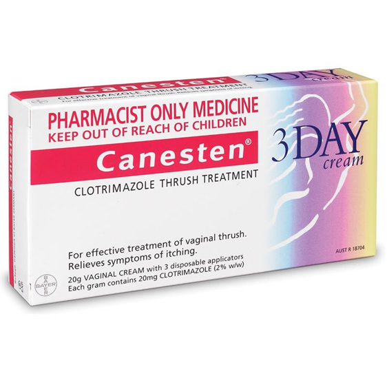 CANESTEN 3 DAY VAG CR 2%