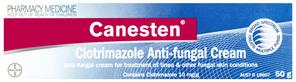 Canesten Anti-fungal Cream 50g