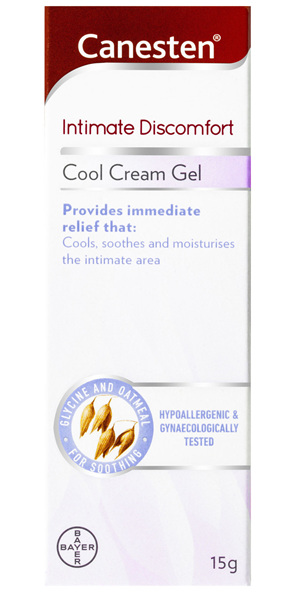 Canesten Intimate Discomfort Relief Cool Cream Gel 15g