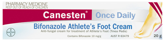 Canesten Once Daily Anti-fungal Athlete's Foot Cream 20g