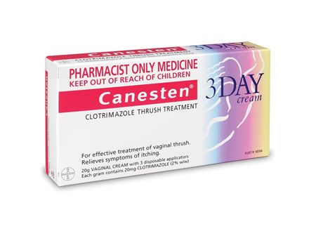 Canesten Otc Product 3 Day Vaginal Cream 20g