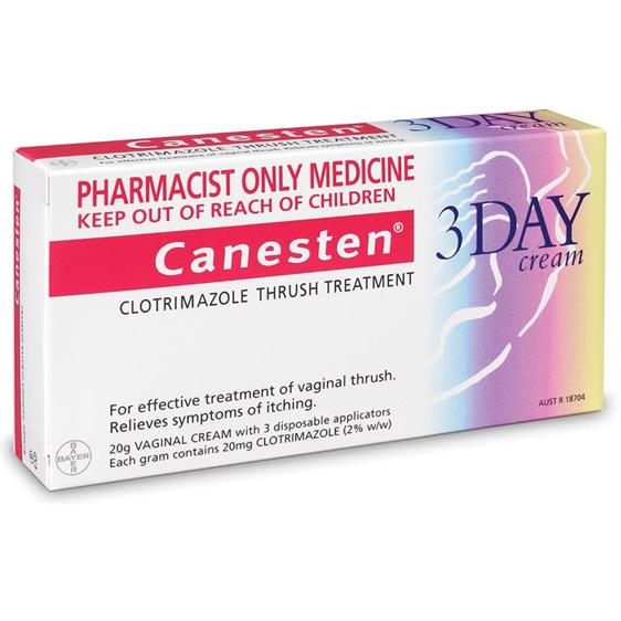 Canesten Otc Product 3 Day Vaginal Cream 20G - Unichem -4750