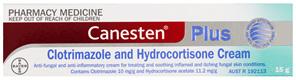 Canesten Plus Antifungal and Anti-Inflammatory Cream 15g
