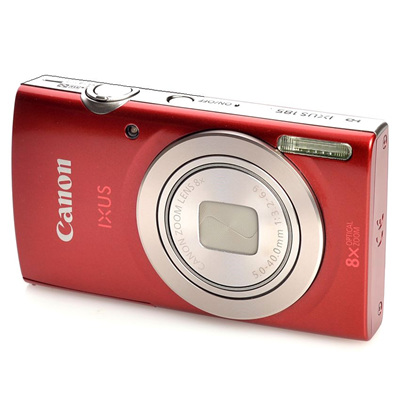 CANON IXUS 185 RED COMPACT CAMERA