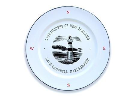 Cape Campbell Enamel Plate