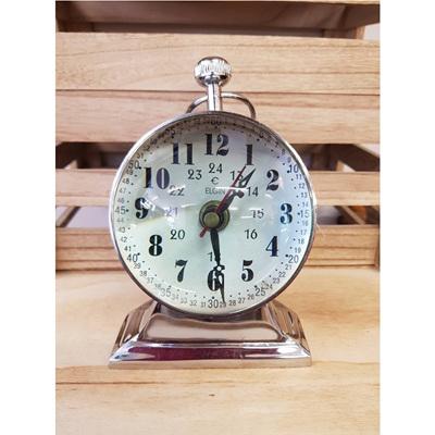 Captains Clock - Chrome